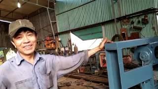 Gara Quốc Việt vừa chế tạo một máy tạo khe chốt level cực kỳ độc đáo.