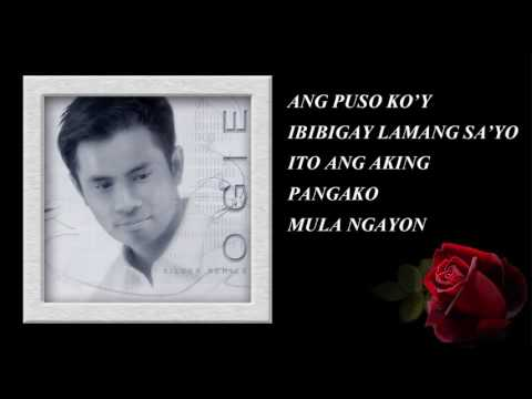 [high Quality Sounds] Ikaw Lamang By Ogie Alcasid With Lyrics video