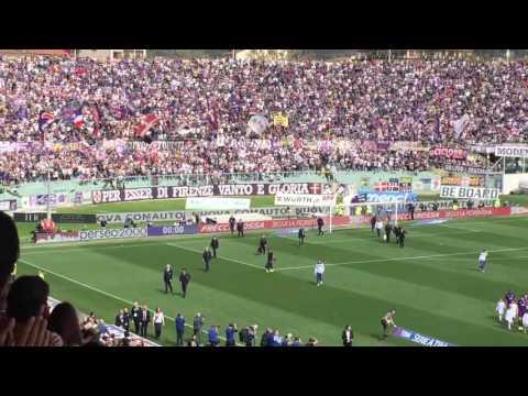 Fiorentina-Sampdoria: applausi viola per Vincenzo Montella