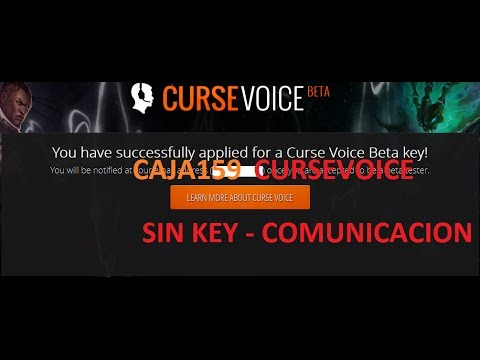 Curse Voice - GRATIS!! SIN KEY! (League of legends)PARCHEADO