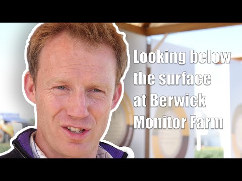 Looking below the surface at Berwick Monitor Farm