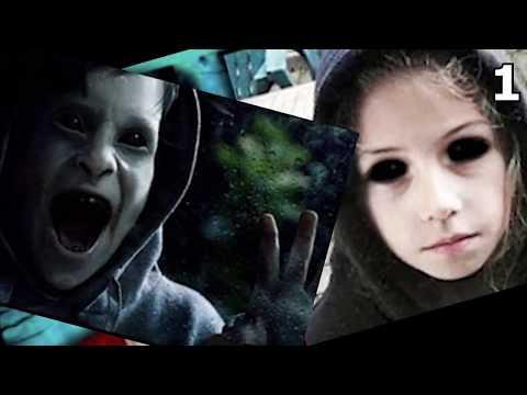 5 Жутких Детей с Черными Глазами, Снятых На Камеру