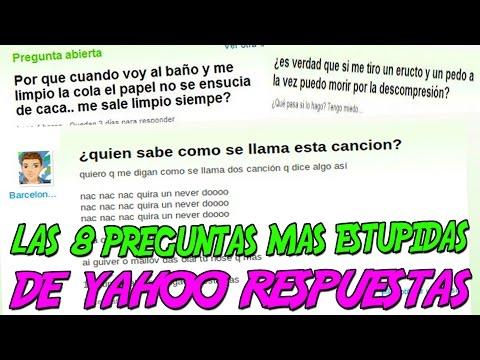 Entretenimiento-Las 8 Preguntas MÁS ESTÚPIDAS de YAHOO RESPUESTAS