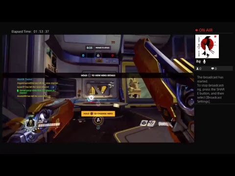 Overwatch live ps4 competitive stream Kingtione89