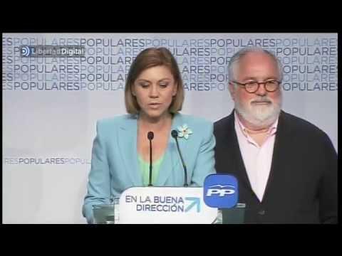 El PP, contento con el resultado a pesar de hundirse con el PSOE