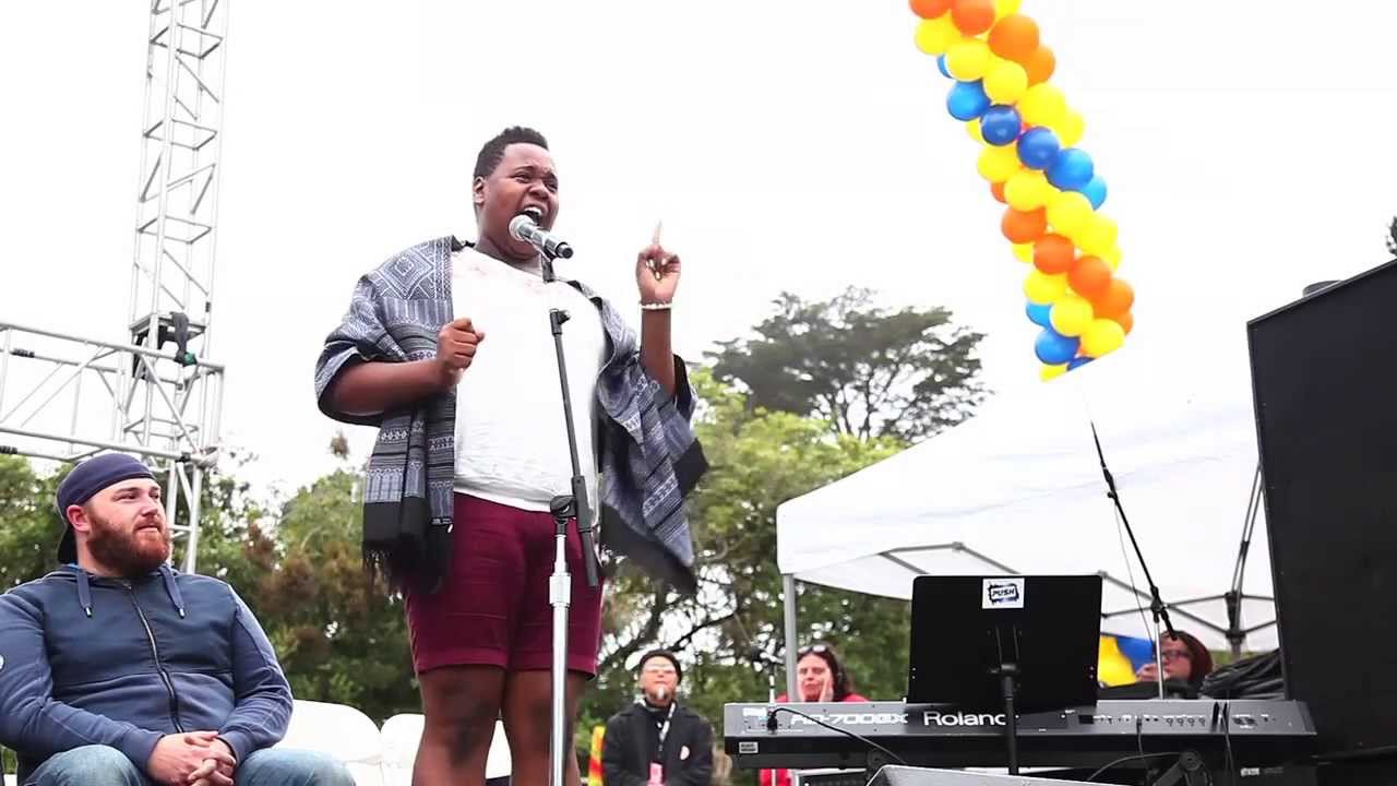 Alex newell of glee sings quot i know where i ve been quot youtube