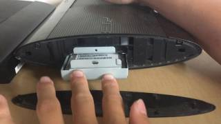 How to Remove and Insert PS3 Supper Slim Hard Drive (HDD)