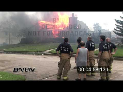 Hurricane Ike Aftermath Part 7 - out of control fires