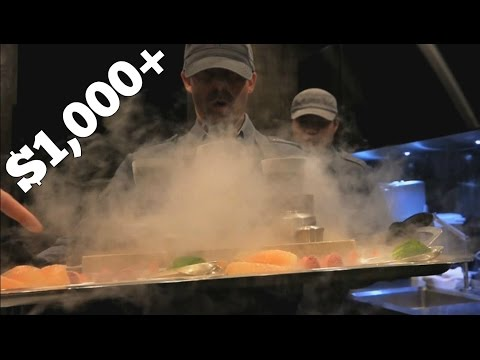 Asia's Most Expensive Restaurant ($1,000+/person)