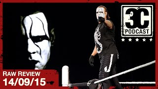 Three Count Podcast: RAW Review | 14/09/15 (Episode 28)