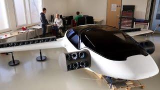 Lilium prueba con éxito su VTOL taxi volador eléctrico
