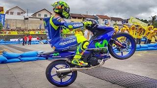 FIRST PUBLIC RACE of Valentino Rossi and Maverick Viñales (MotoGP Yamaha GP)