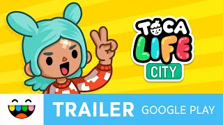 Experiment & Customize in Toca Life: City | Google Play Trailer | @TocaBoca