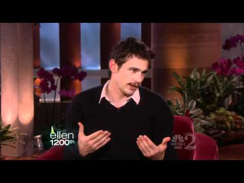 James Franco on Ellen (11/5/10) - HD