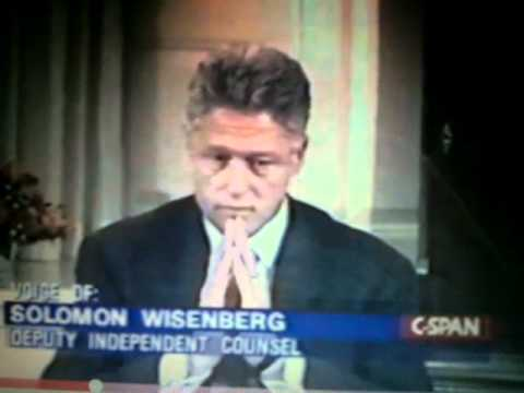 Bill Clinton My Body Language Analysis Monica Lewinsky