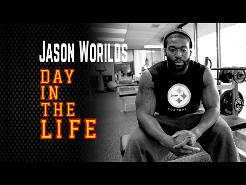 Day In The Life Of Pittsburgh Steelers Jason Worilds video