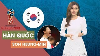 """[ĐƯỜNG ĐẾN WORLD CUP 2018] Hàn Quốc trông cậy """"Soái ca"""" Son Heung-min"""