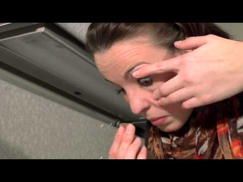 how to take out contacts with long fingernails