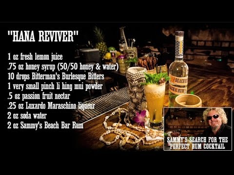 Hana Reviver: Sammy's Search For The Perfect Rum Cocktail #4 @ Smuggler's Cove (SF)