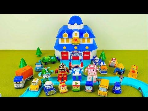 Robocar Poli Collection of toy cars. Робокар Поли коллекция игрушечных машинок. Poli the Robocar