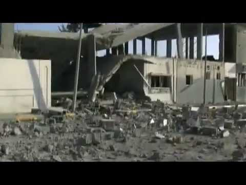 Libya: Sirte Inside - 9/17/2011, NATO bombed local Radio Station