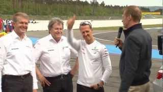 Mercedes-Benz TV: Formula 1 meets DTM