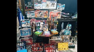 * EPIC Star Wars Vintage TOY COLLECTION !! Veteran JEDI Entertain Us with a Tour