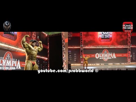 Big Ramy Guest Posing @ 2016 Amateur Olympia Moscow