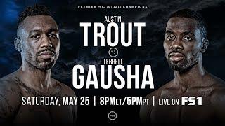TROUT VS GAUSHA *PBC* / ITO VS HERRING *ESPN* SAT MAY 25