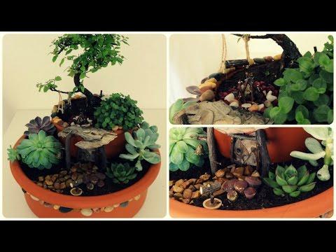 Fairy Garden #3 * Minigarten im Topf