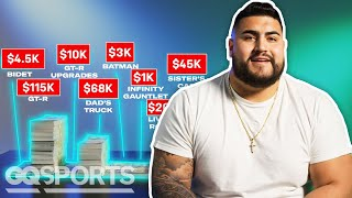 How Will Hernandez Spent His First $1M in the NFL | My First Million | GQ Sports