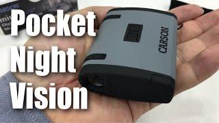 Carson MiniAura Digital Night Vision Monocular (NV-200) Review