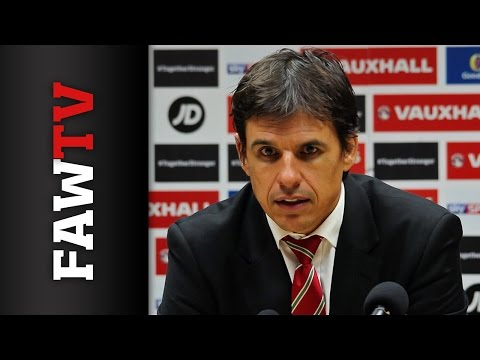 Chris Coleman's reaction to win over Cyprus