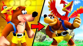Banjo & Kazooie Moveset Analysis & History - Smash Ultimate