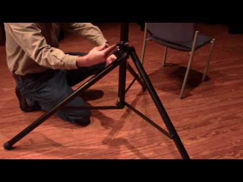 How to set up speaker stands