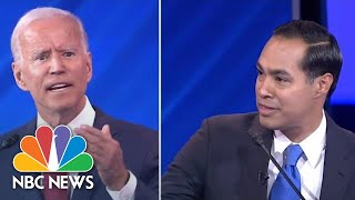 Democratic Debate: Watch Castro Go After Biden And Yang's 'Big' Surprise | NBC News