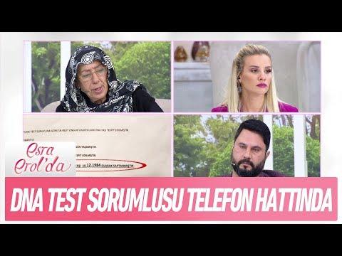 DNA test sorumlusu telefon hattında - Esra Erol'da 4 Ocak 2018