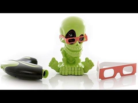Новый  3D Джонни-Черепок - Johnny the Skull Тир проекционный