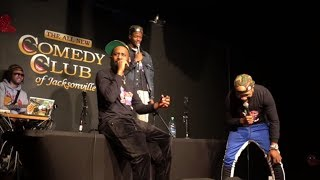The 85 South Show Jacksonville Roast Session with DC Young Fly ,Karlous Miller and Chico Bean