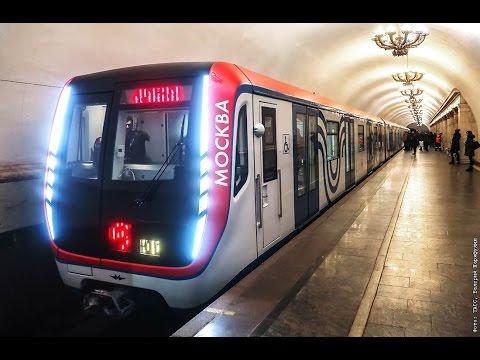 Поезд Москва и поезд Ока (две модификации) на станции Сходненская