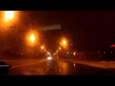 Агрессивное вождение. Легкий занос. Dangerous driving (Хроники Ниссан Мурано. Nissan Murano)
