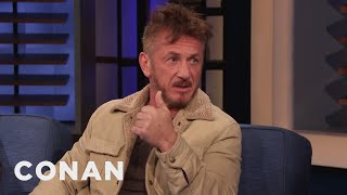 Download Song Sean Penn Always Shows Up Where There's Trouble - CONAN on TBS Free StafaMp3