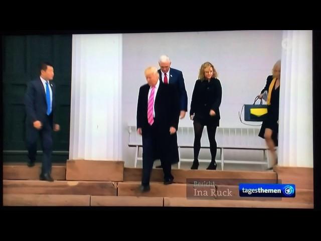 Donald Trump Handshake Fail
