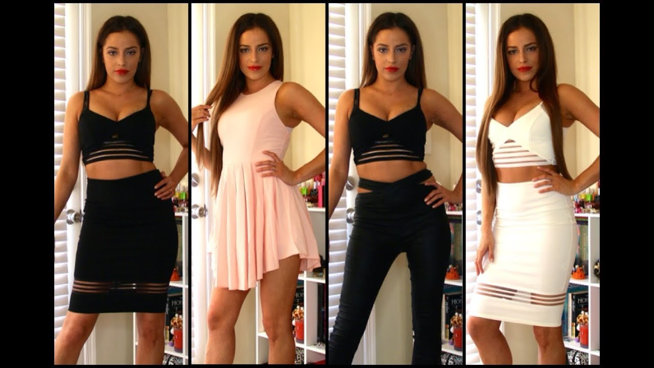 Fashion Nova Dress Haul TRY ON HAUL FASHION NOVA