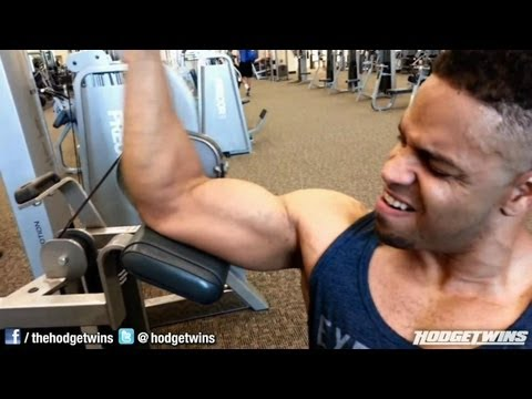Back and Biceps Workout @hodgetwins