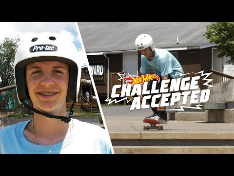Impossible The 8 Stair - Hot Wheels Challenge Accepted