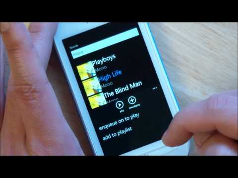 Unofficial Grooveshark client for Windows Phone (Alpha)