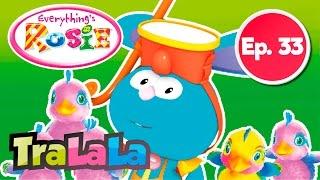 Rosie și prietenii ei - Tup Tup e mămică (Episodul 33) - Desene animate   TraLaLa