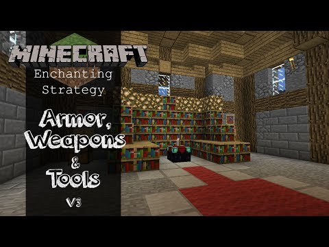 Minecraft 1.7.2/1.7.4/1.7.9/1.7.10   How to get Good Enchantments (Strategy)