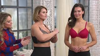 Breezies Lace Essentials Side Smoothing Bra on QVC
